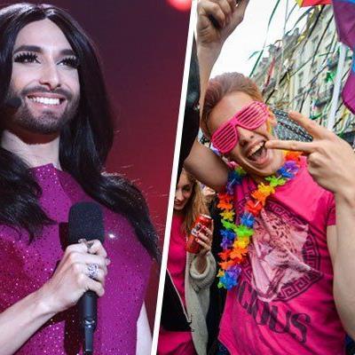 Conchita Wurst wird Ehrengast bei der Gay-Pride-Parade.
