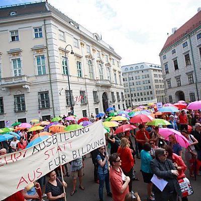 Alle Proteste Anfang Juni umsonst