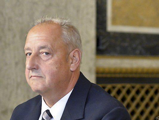 Steuerberater und Wirtschaftsprüfer Günther Pöschl im U-Ausschuss