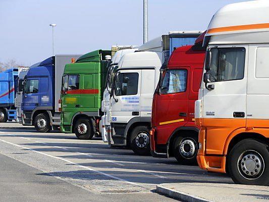 Die meisten Laster wurden auf der Westautobahn gezählt