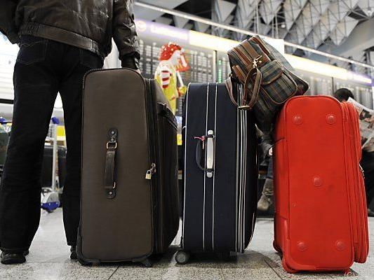 Passagiere sollen nicht mehr so viel einpacken