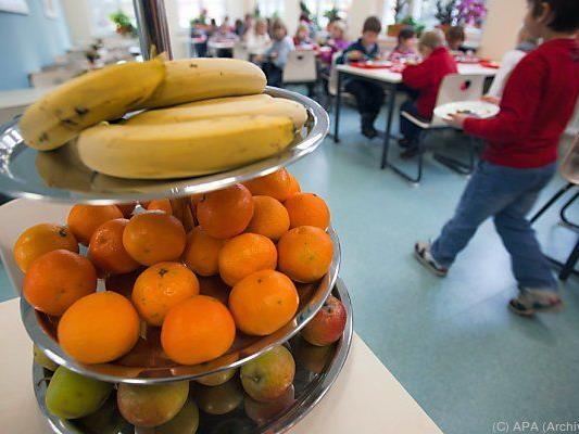 Österreichs Schüler essen mehr Obst