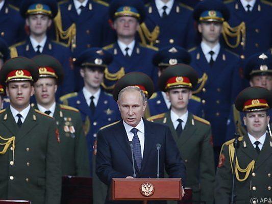 Putin kündigte Aufstockung des Atomarsenals an