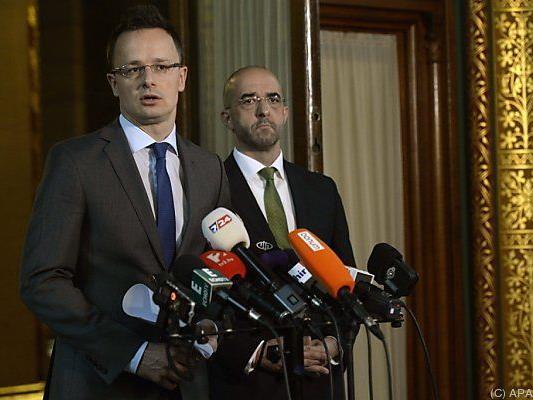 Ungarns Außenminister verteidigte die Entscheidung