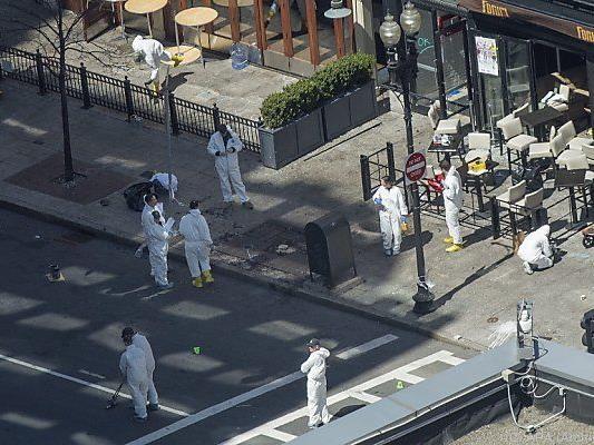 Drei Menschen starben bei Anschlag auf Bostoner Marathon