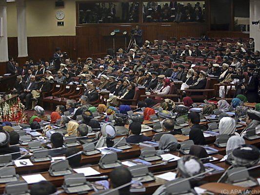 Taliban sollen ins Parlament eingedrungen sein