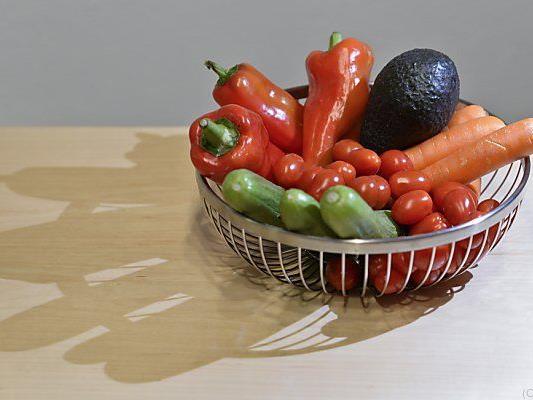 Vier Prozent bezeichneten sich als Vegetarier, ein Prozent als Veganer