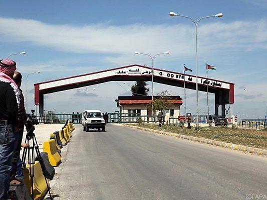 Grenze zwischen Syrien und Jordanien