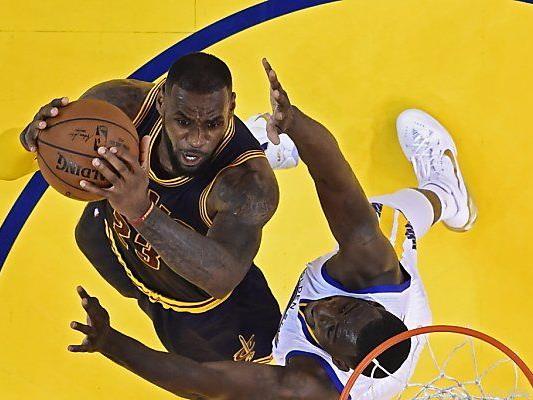 Auch 44 Punkte von Cavaliers-Star LeBron James reichten nicht