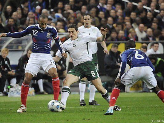Irland haderte mit dem Schiedsrichter