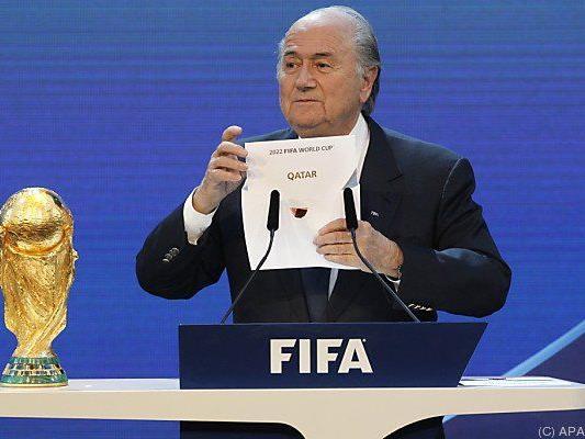 Die Vergabe der Fußball-WM an Katar sorgt weiter für Diskussion