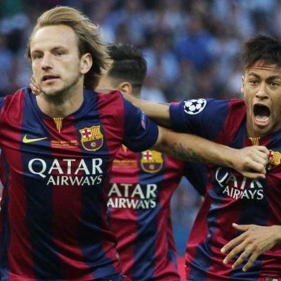 Rakitic, Suarez und Neymar trafen für die Katalanen
