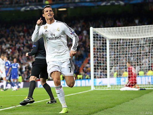 48 Meisterschaftstore von Real-Star Cristiano Ronaldo