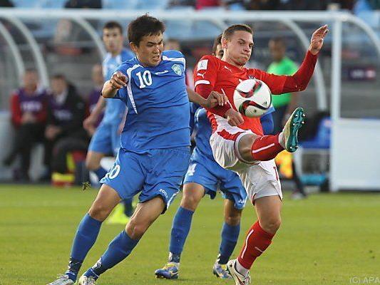 Junge ÖFB-Kicker schafften es nicht ins Viertelfinale