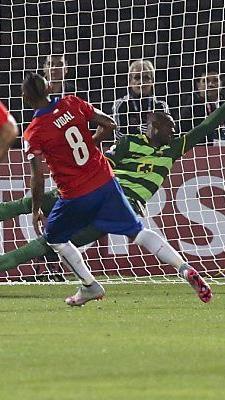 Arturo Vidal traf per Elfmeter zum 1:0