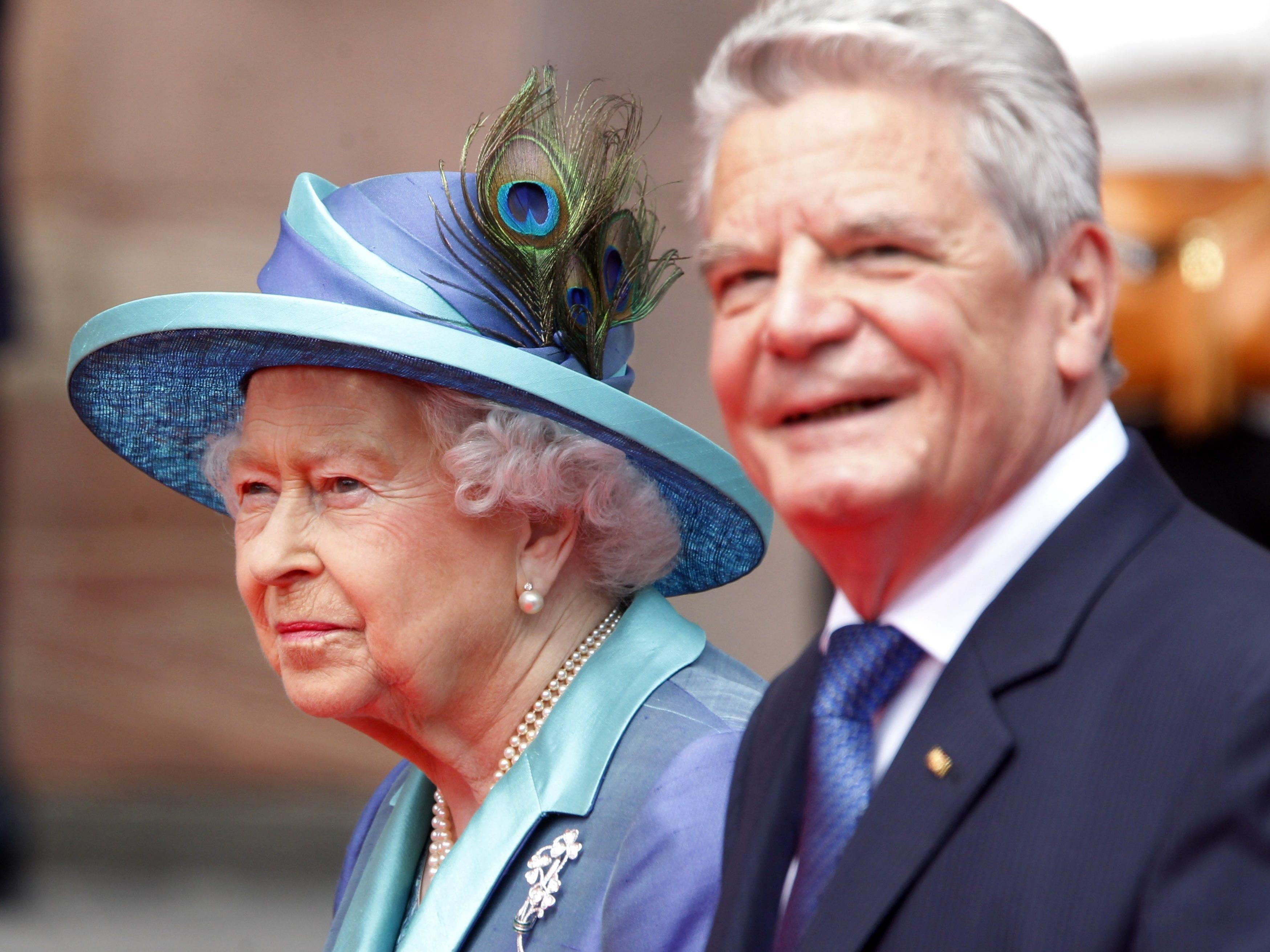 Die Queen ist derzeit auf Staatsbesuch in Deutschland.