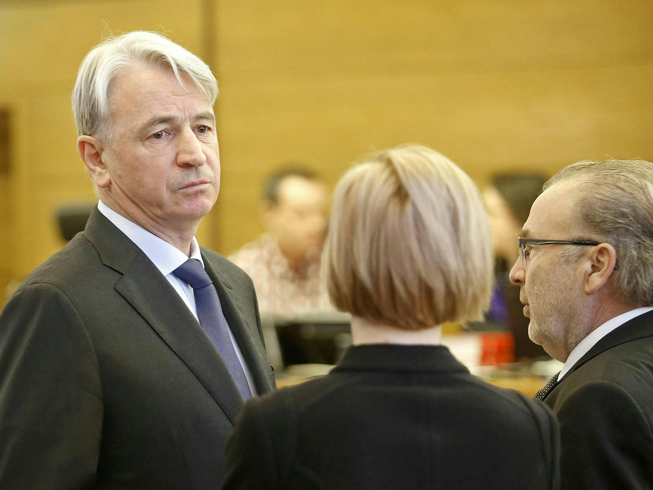 Wolfgang Kulterer und Günter Striedinger wurden freigesprochen.