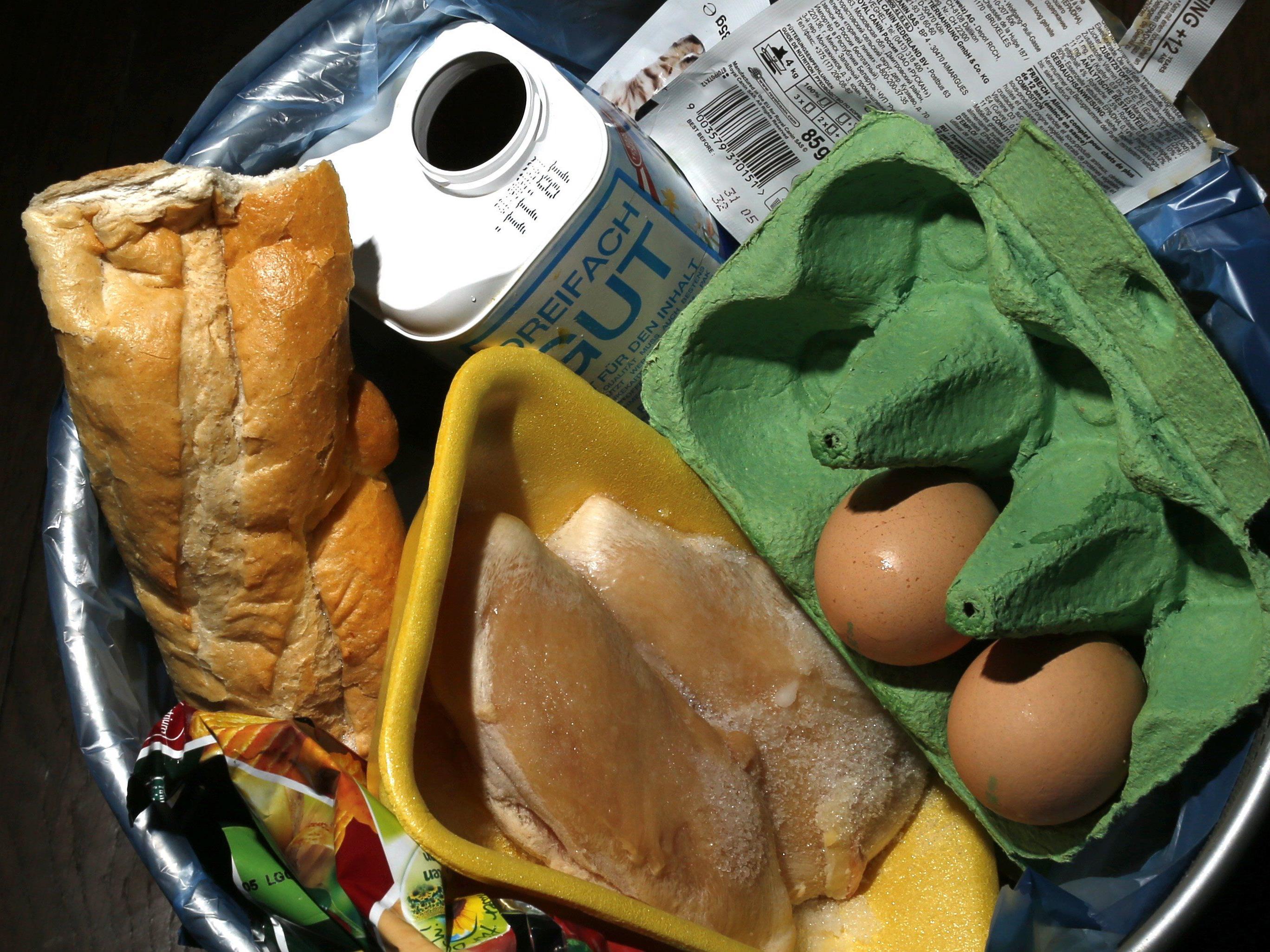Verschwendung von Lebensmitteln soll eingedämmt werden.