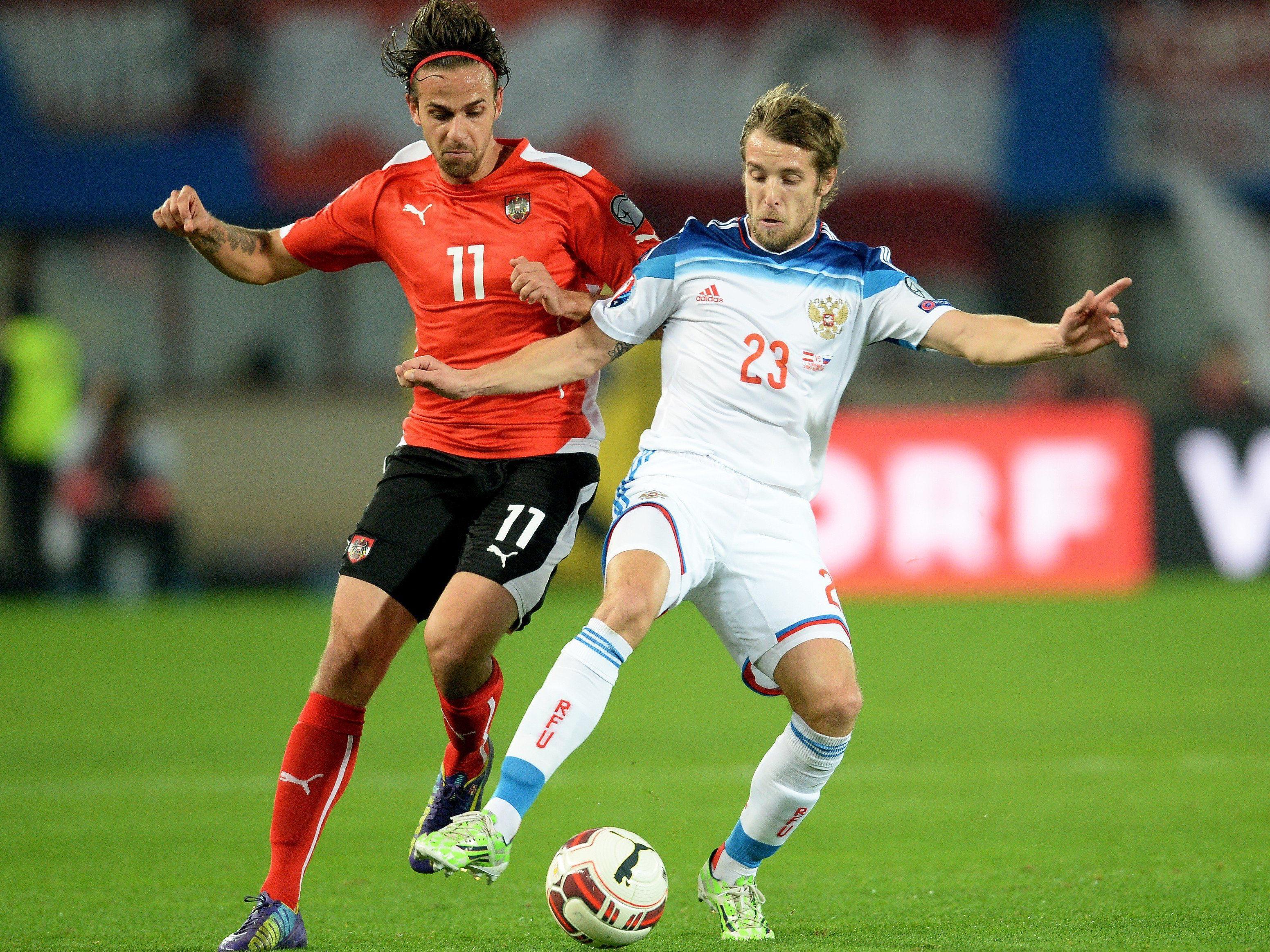 Am 14. Juni trifft Österreich auf Russland in der EM-Qualifikation: Hier geibt es Public Viewing in Wien.