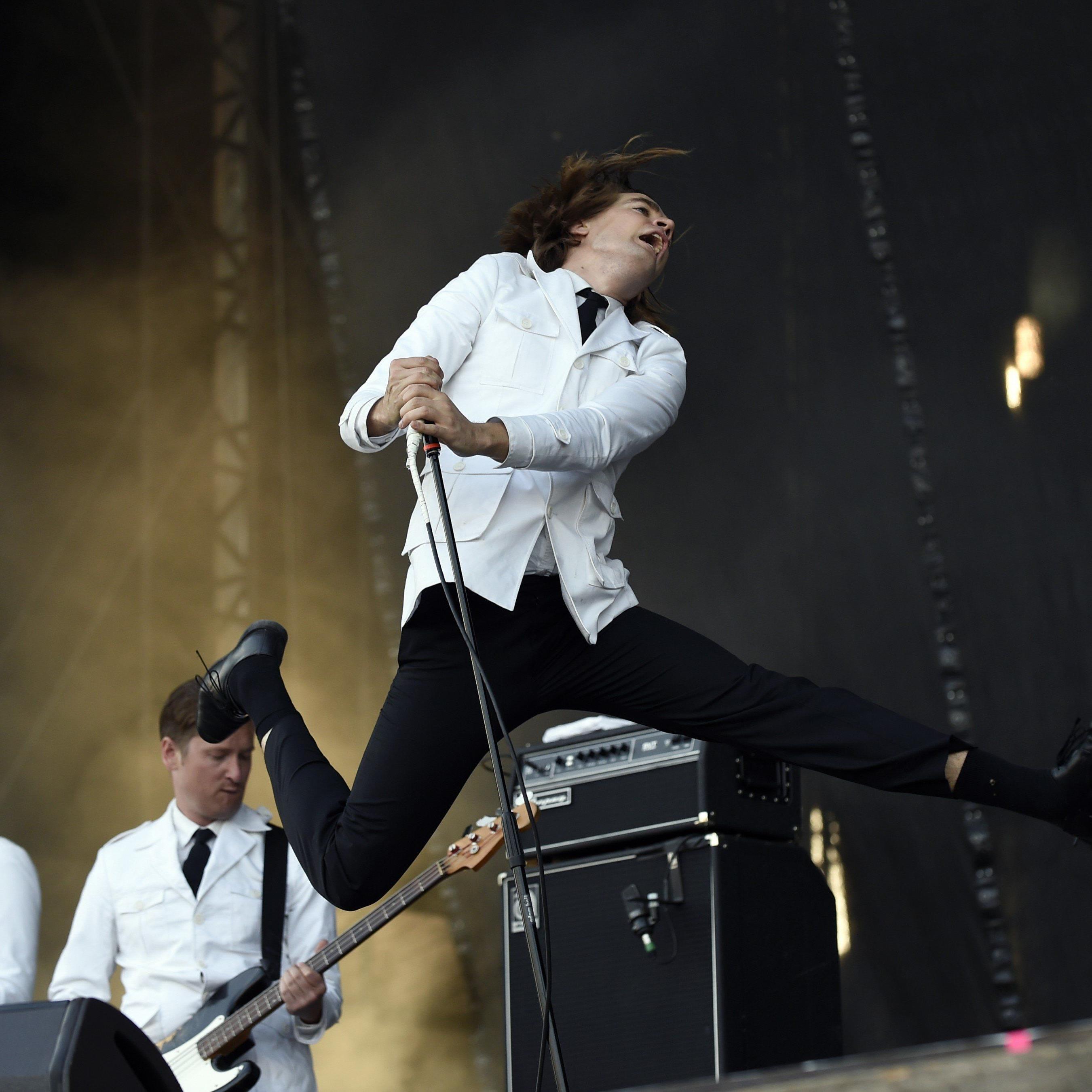 """The Hives (Bild), Incubus und Muse sorgten für Stimmung am zweiten Tag des """"Rock in Vienna""""."""