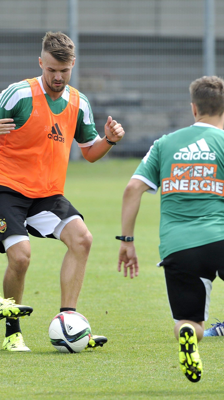Trainingsauftakt beim SK Rapid Wien.