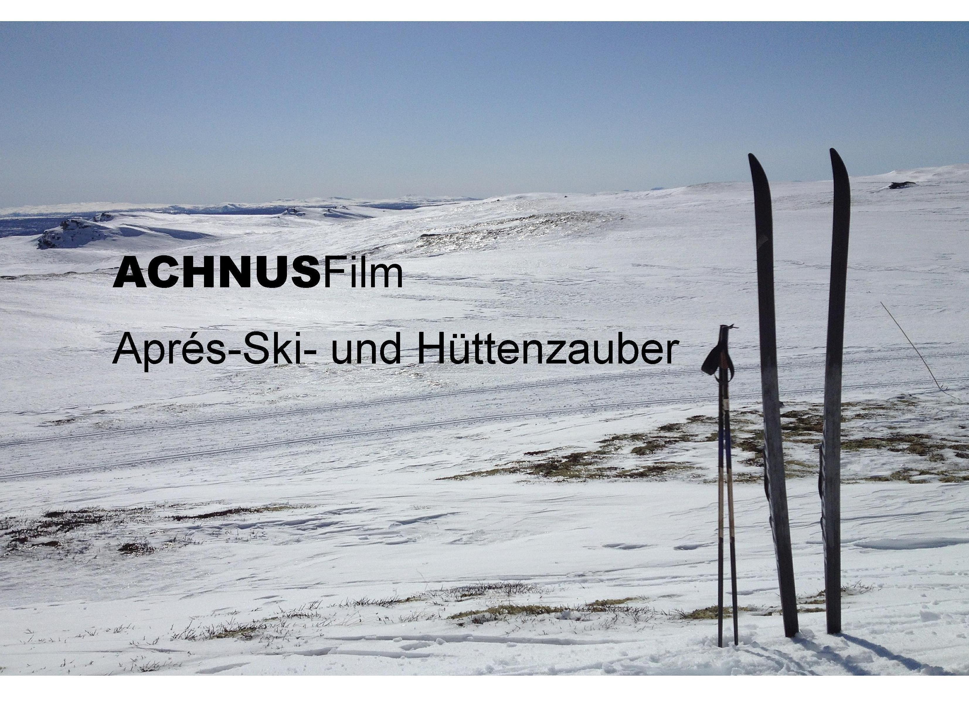 Winterliche Stimmung bei ACHNUS Film