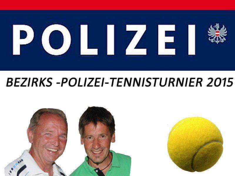Bezirks-Polizei-Tennisturnier 2015