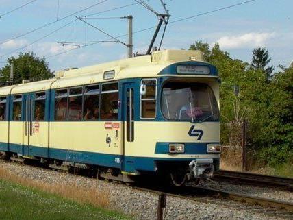 In Wiener Neudorf geschah ein Unfall mit der Badner Bahn