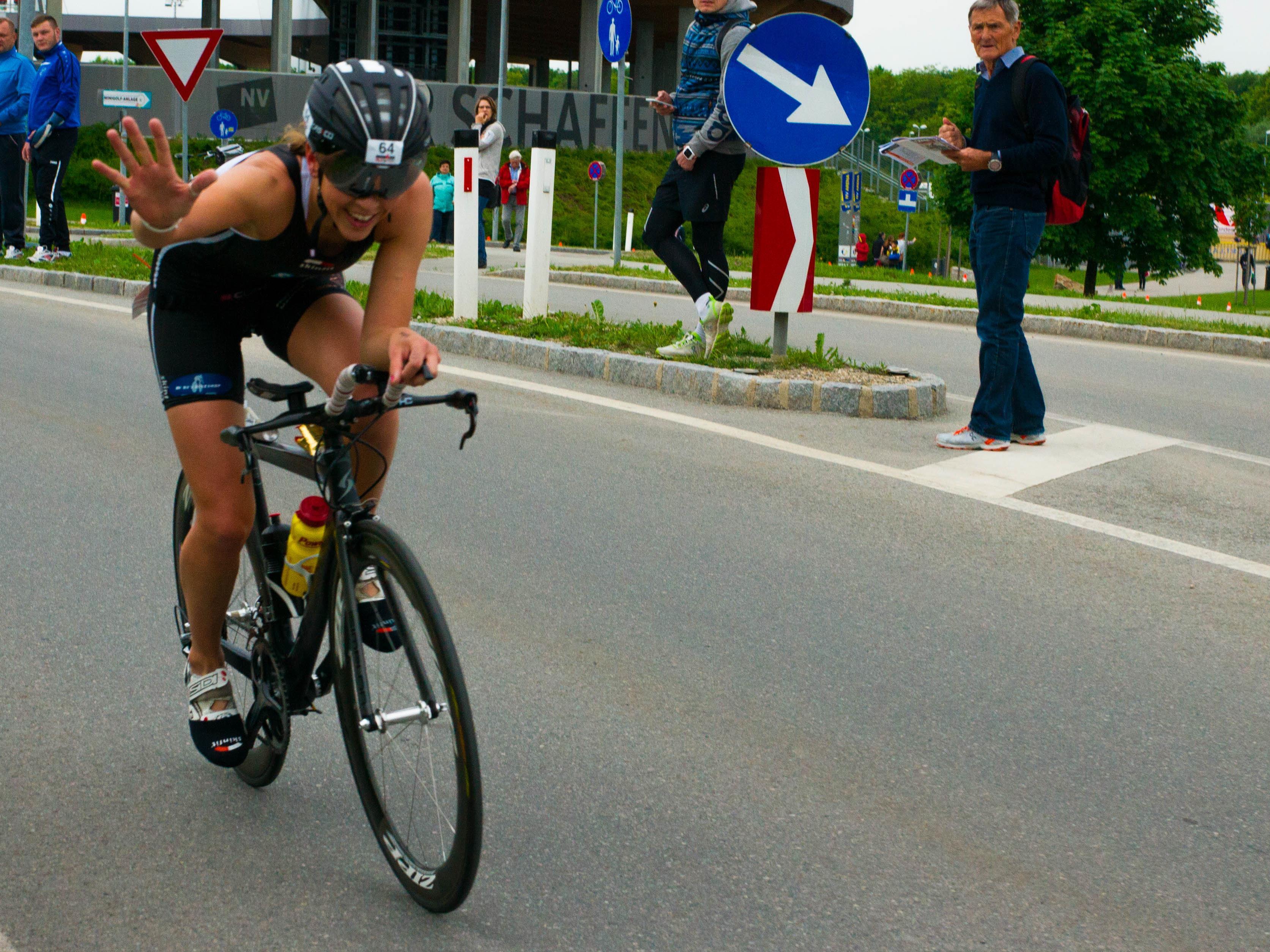 Starker neunter Platz für die Schwarzenbergerin Bianca Steurer im Ironman in Kärnten