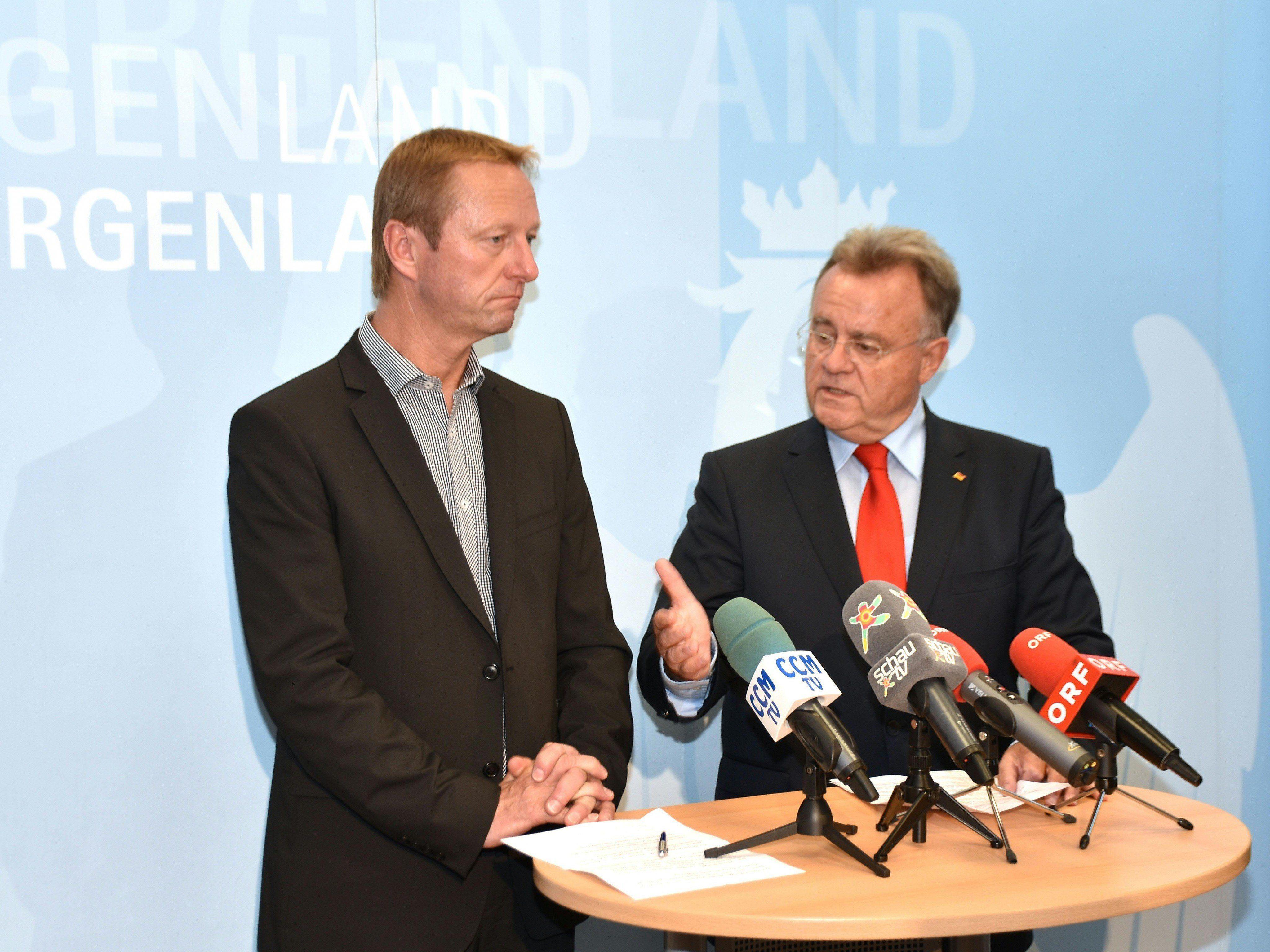 Die Koalitionsverhandlungen im Burgenland gingen ausgesprochen rasch über die Bühne.