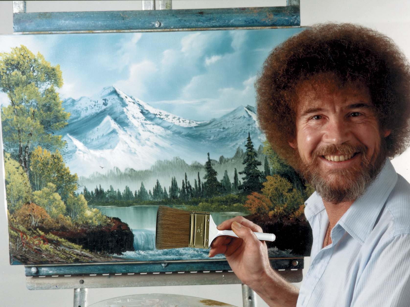 TV-Kunstlehrer vermittelte Millionenpublikum die Freude an kitschigen Landschaften.
