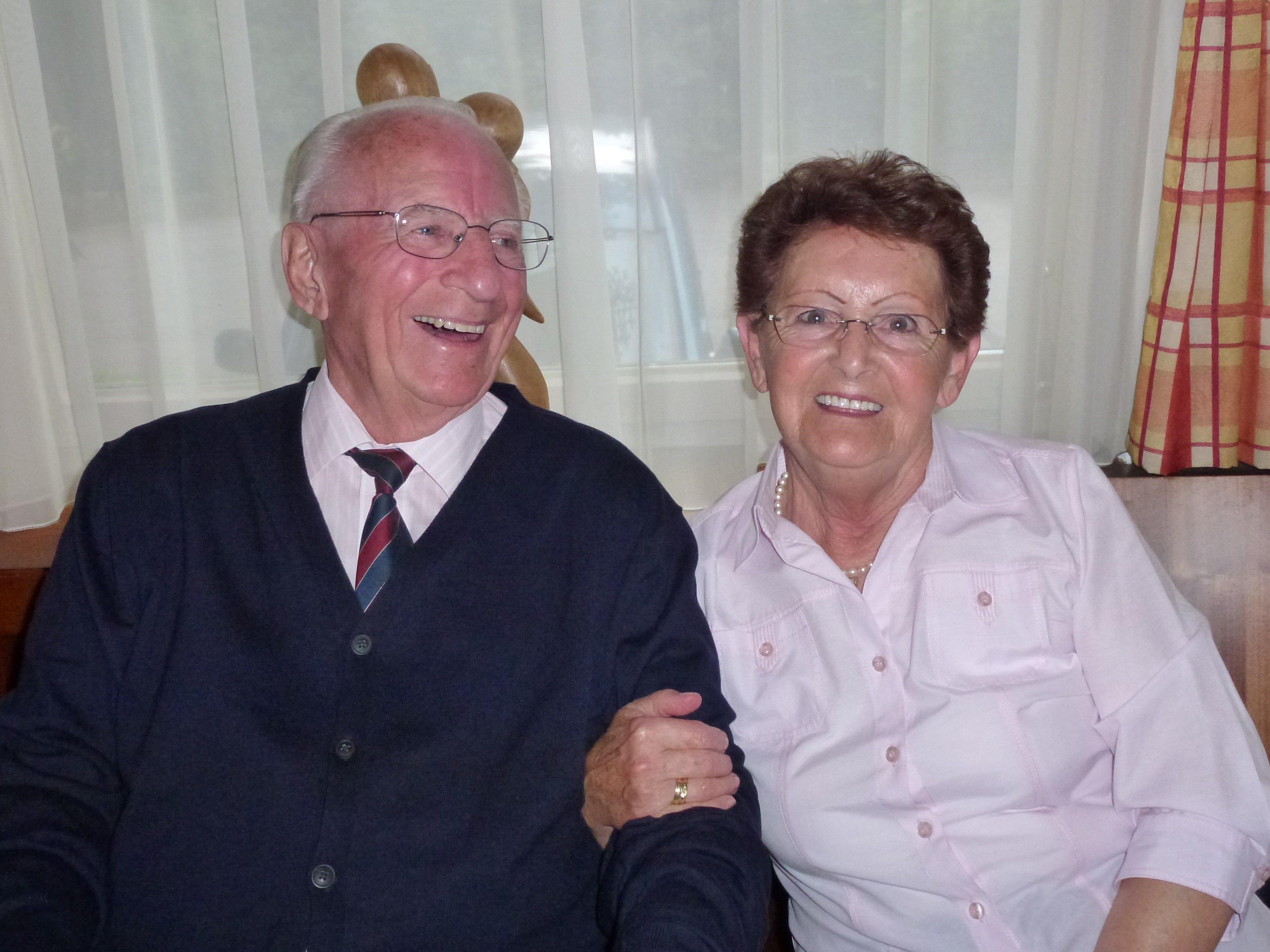 Heute feiern Hildegard und Walter Casagrande die Diamantene Hochzeit.