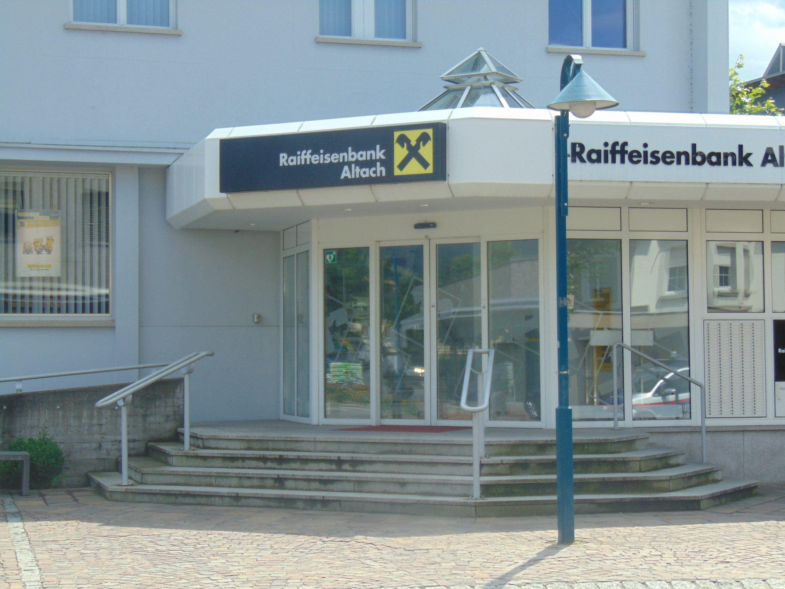 Raiba Altach firmiert zur Raiffeisenbank amKumma