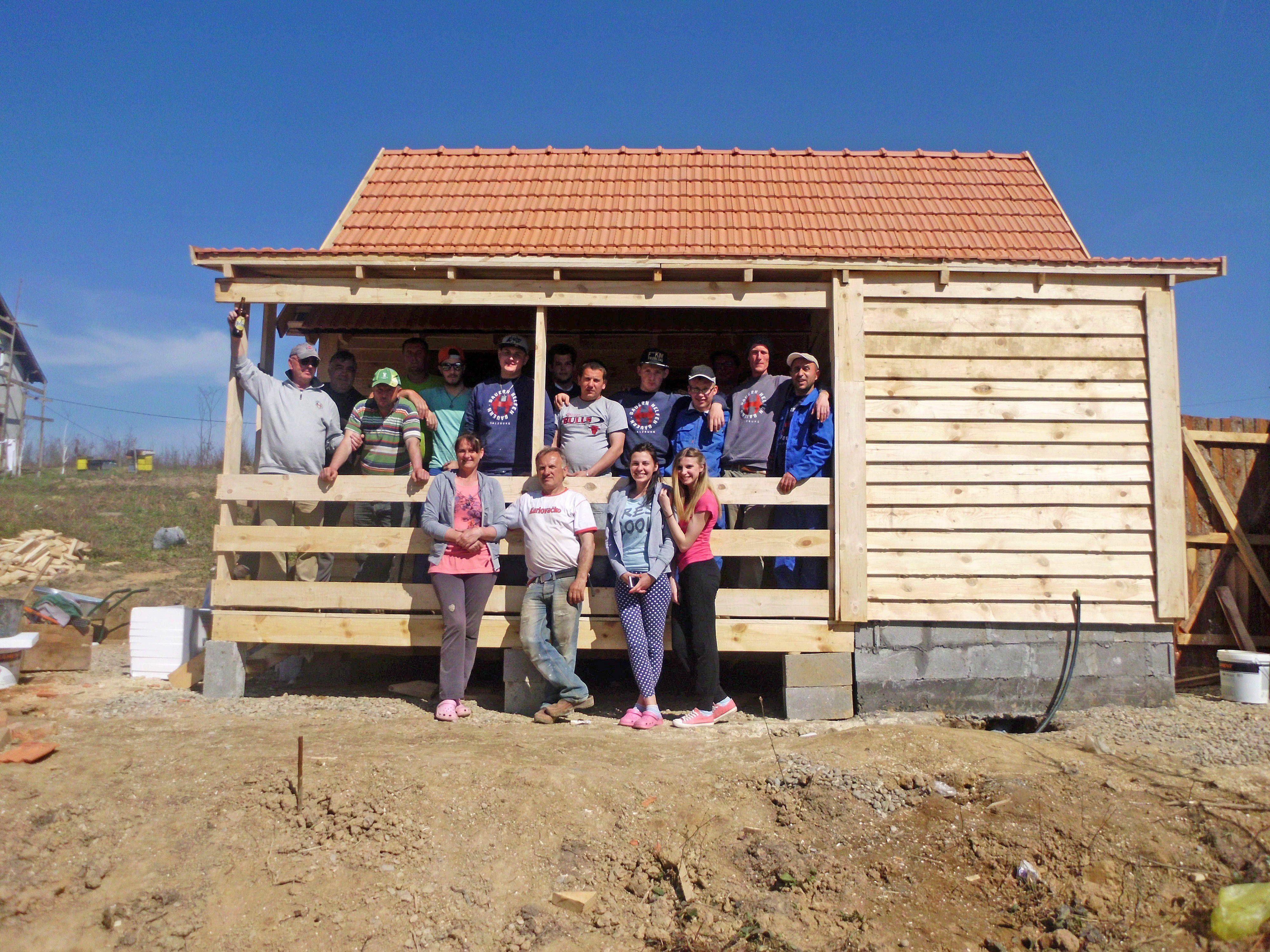 Mit dem Projekt wurden Brücken gebaut zwischen Menschen mit besonderen Bedürfnissen, arbeitslosen Jugendlichen und bosnischen Kriegshinterbliebenen.