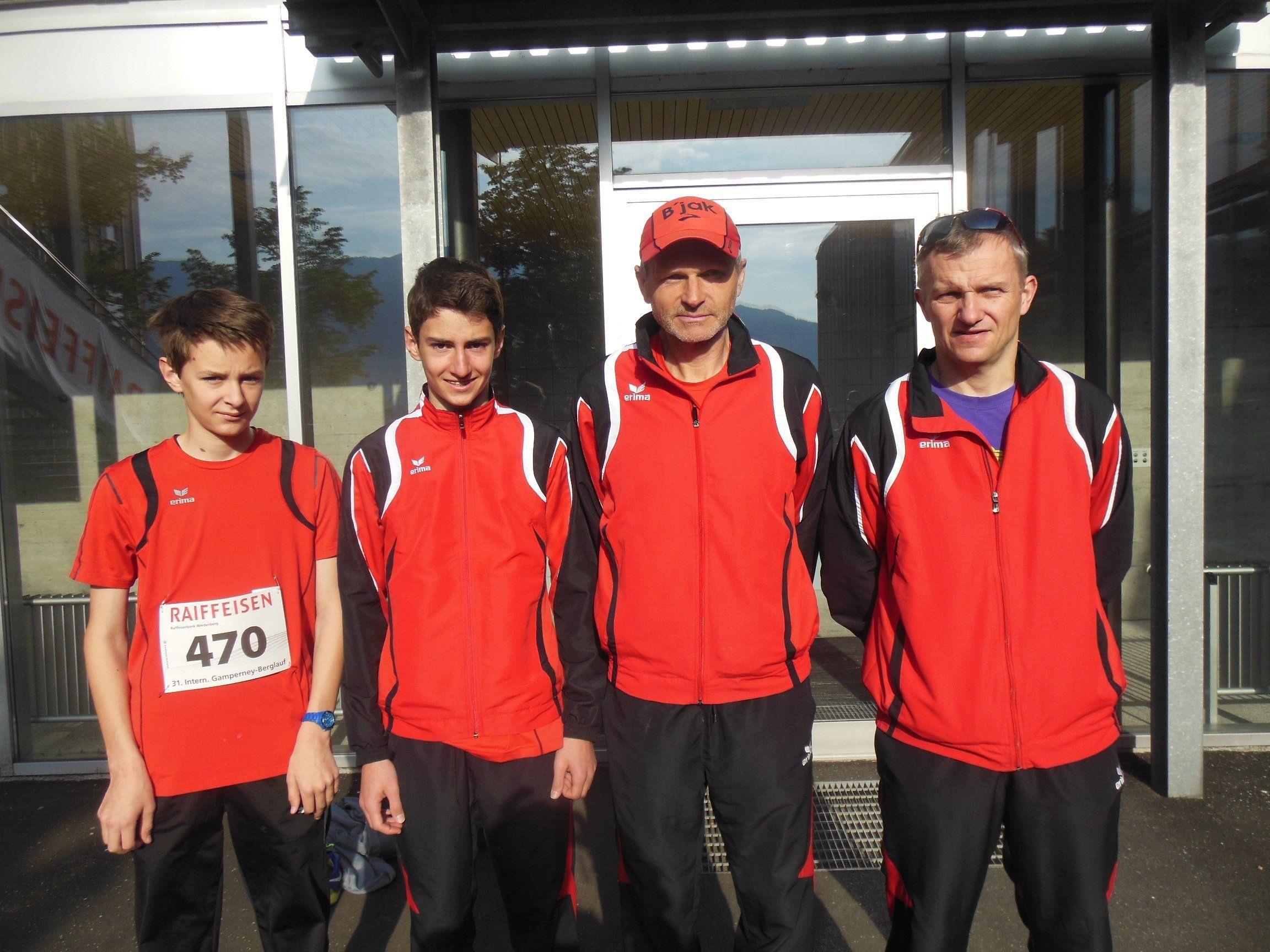Die Fahrt in die Schweiz hat sich für die BLT Läufer gelohnt!