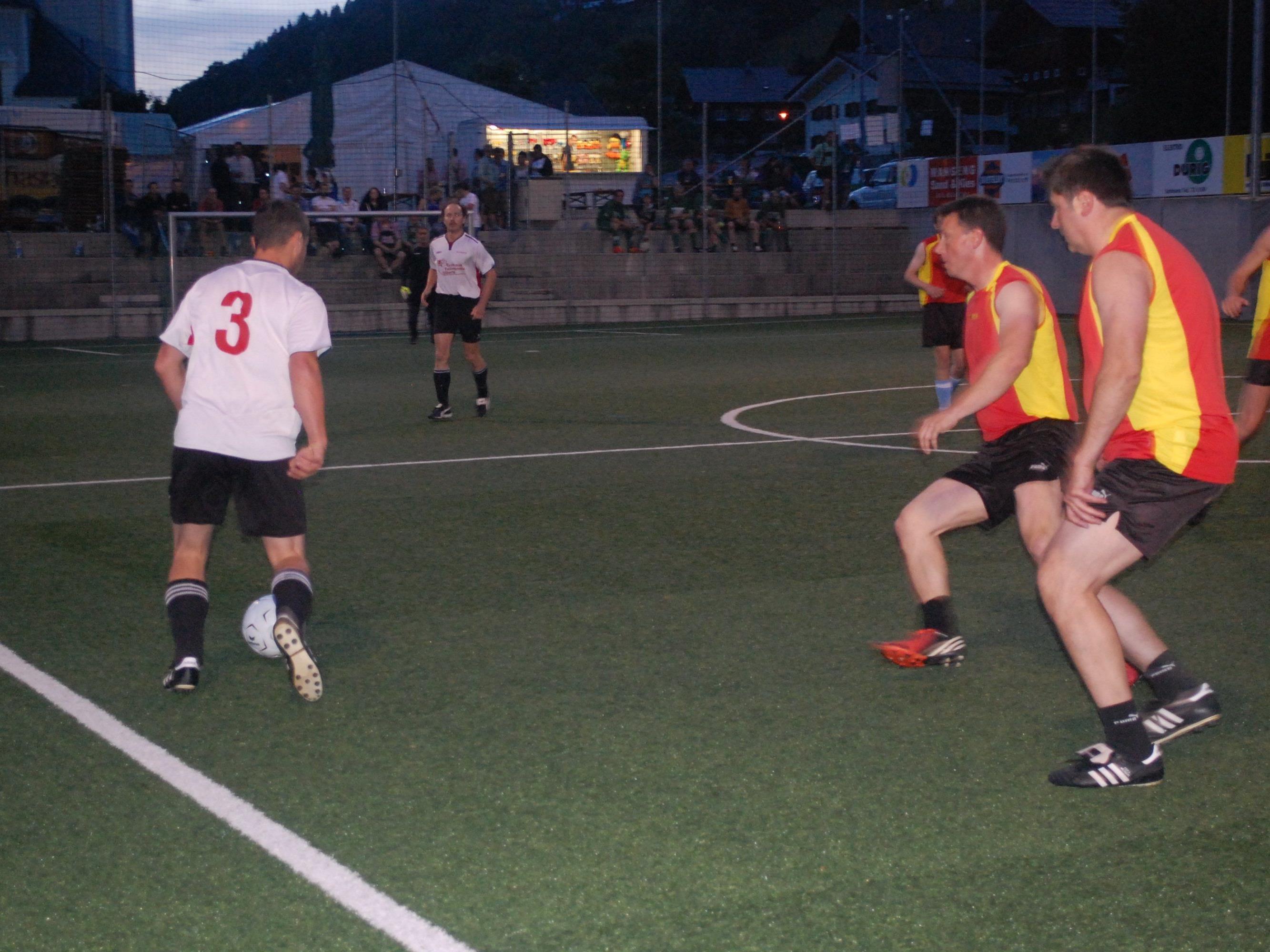 Rasante Fußballszenen gab es einige zu sehen beim diesem Kleinfeldturnier.