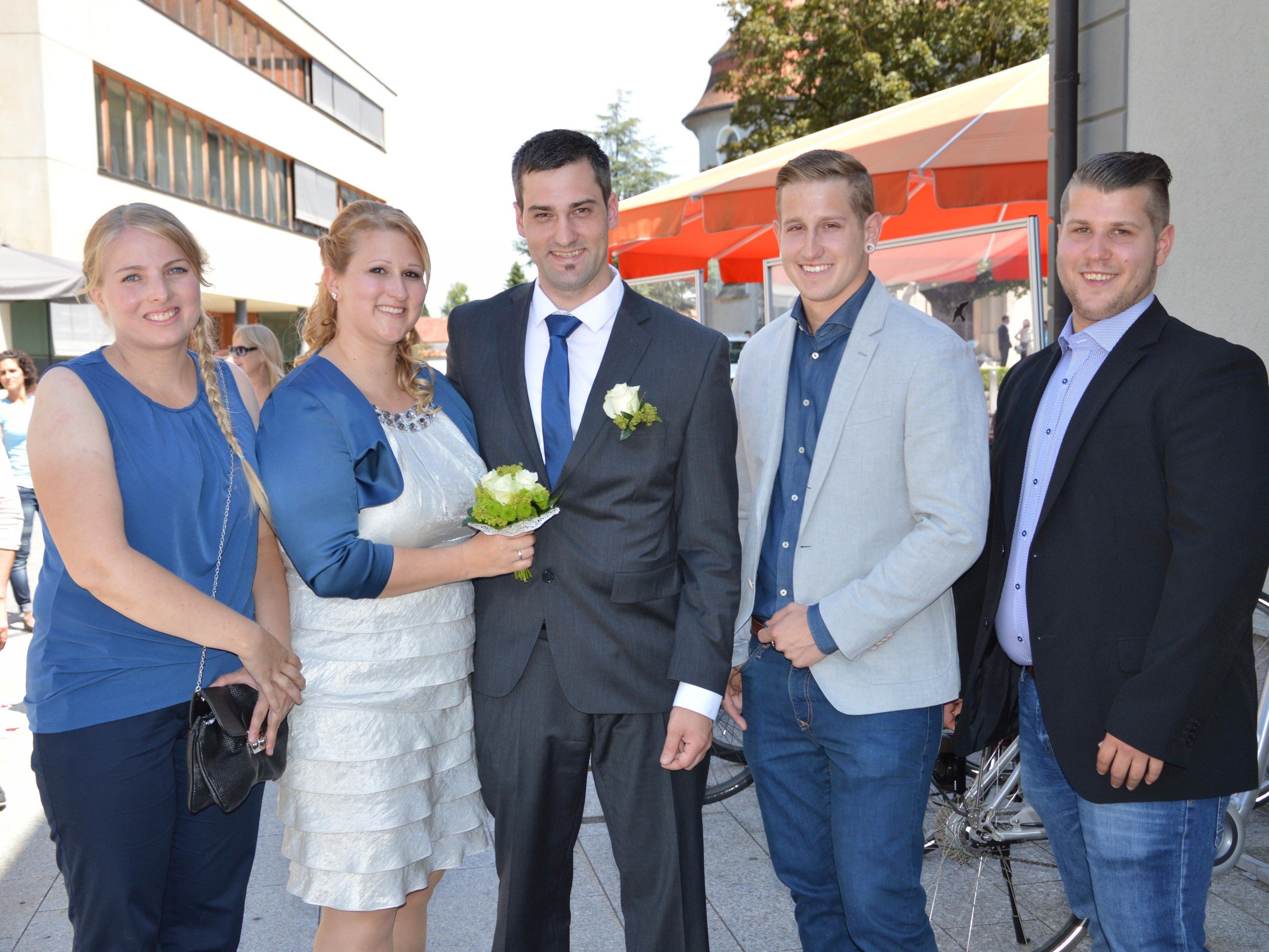 Christina Blum und Florian Bischof haben geheiratet