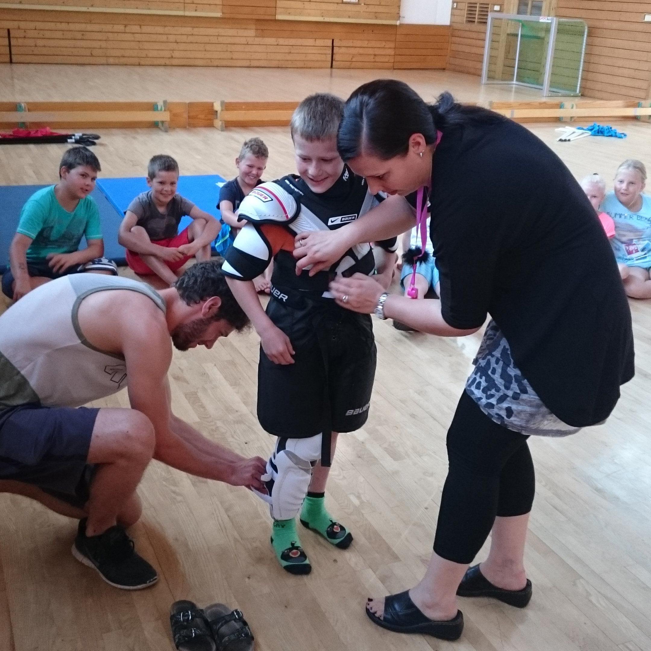 Der EHC Bregenzerwald will die Jugend sehr früh zum Eishockeysport bringen