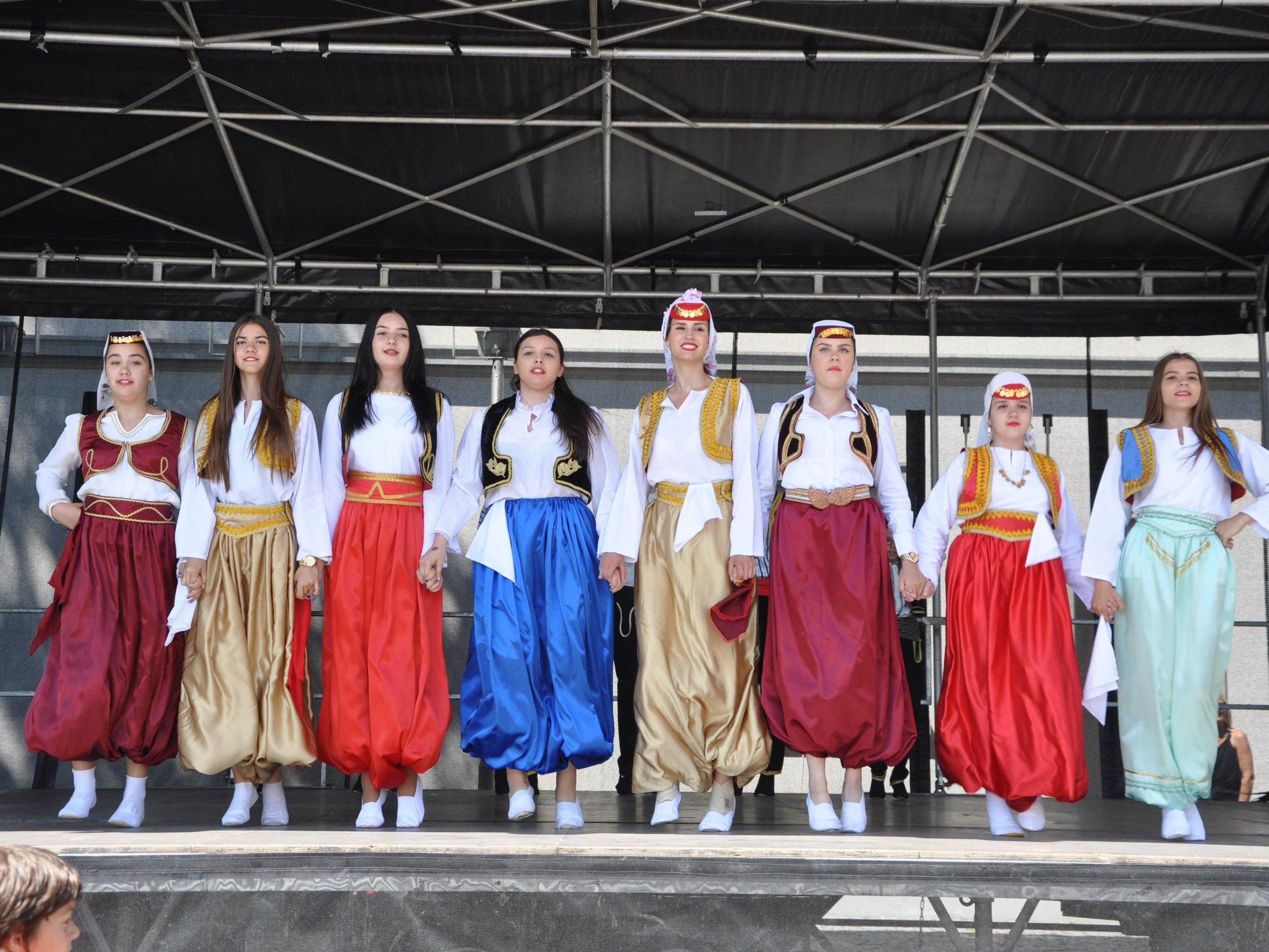 Ein absolutes Highlight, das Fest der Kulturen auf dem Rankweiler Marktplatz.