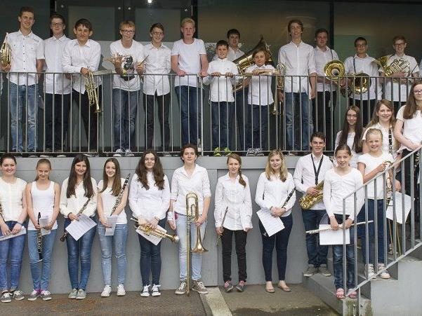 Gratulation dem Schülerblasorchester der MS Klostertal für die gr0ßartige Leistung.