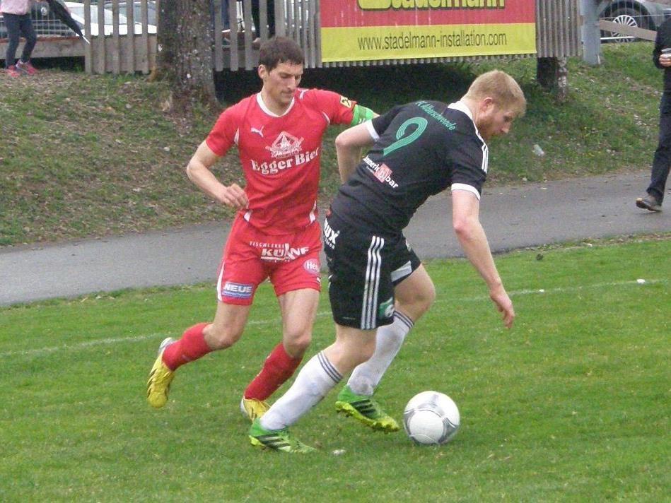 Der Egger Daniel Schneider (li.) und Stefan Betsch sind wichtige Stützen ihrer Teams.