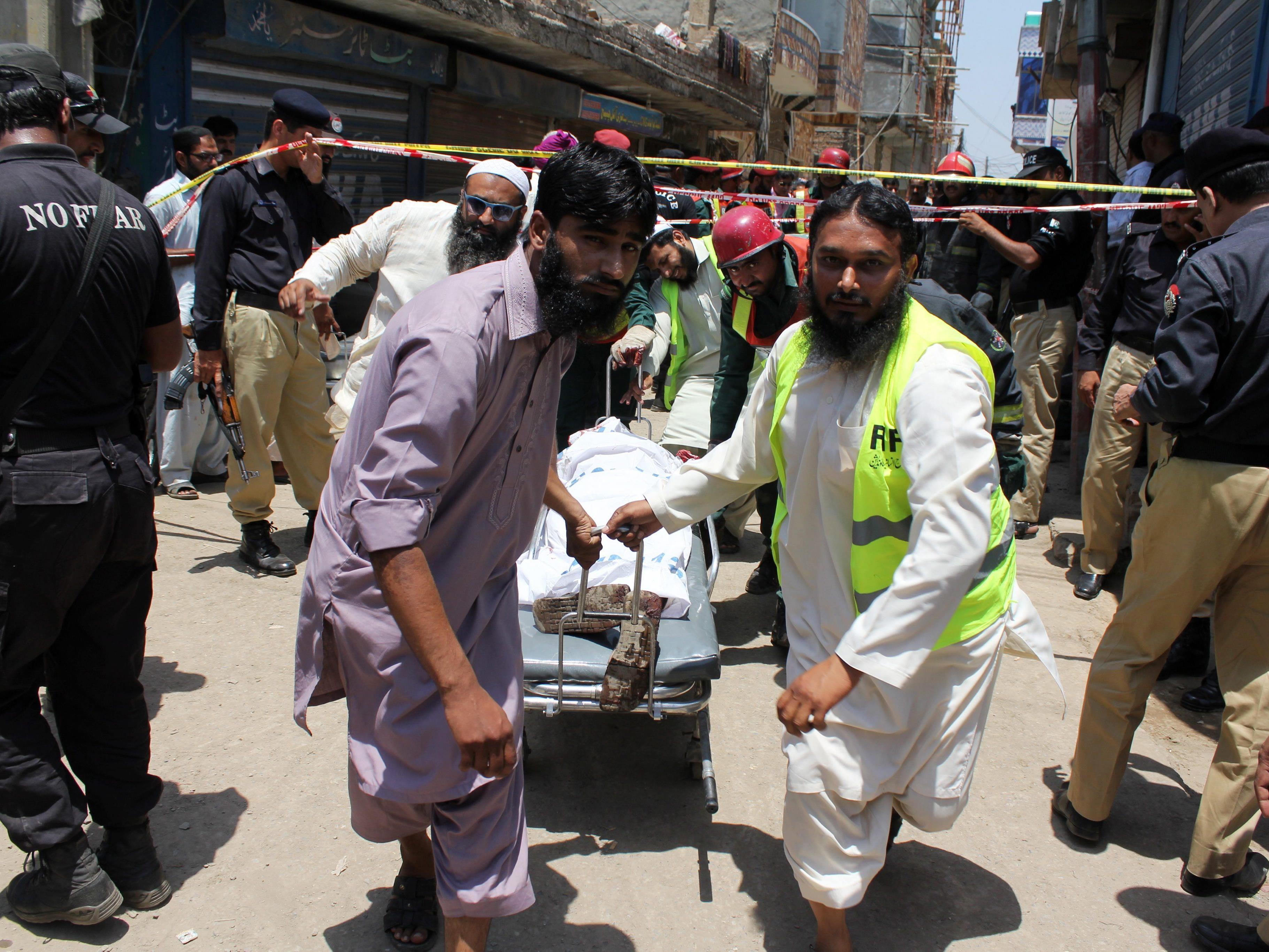 Acht Personen wurden bei einem Drohnenangriff getötet.
