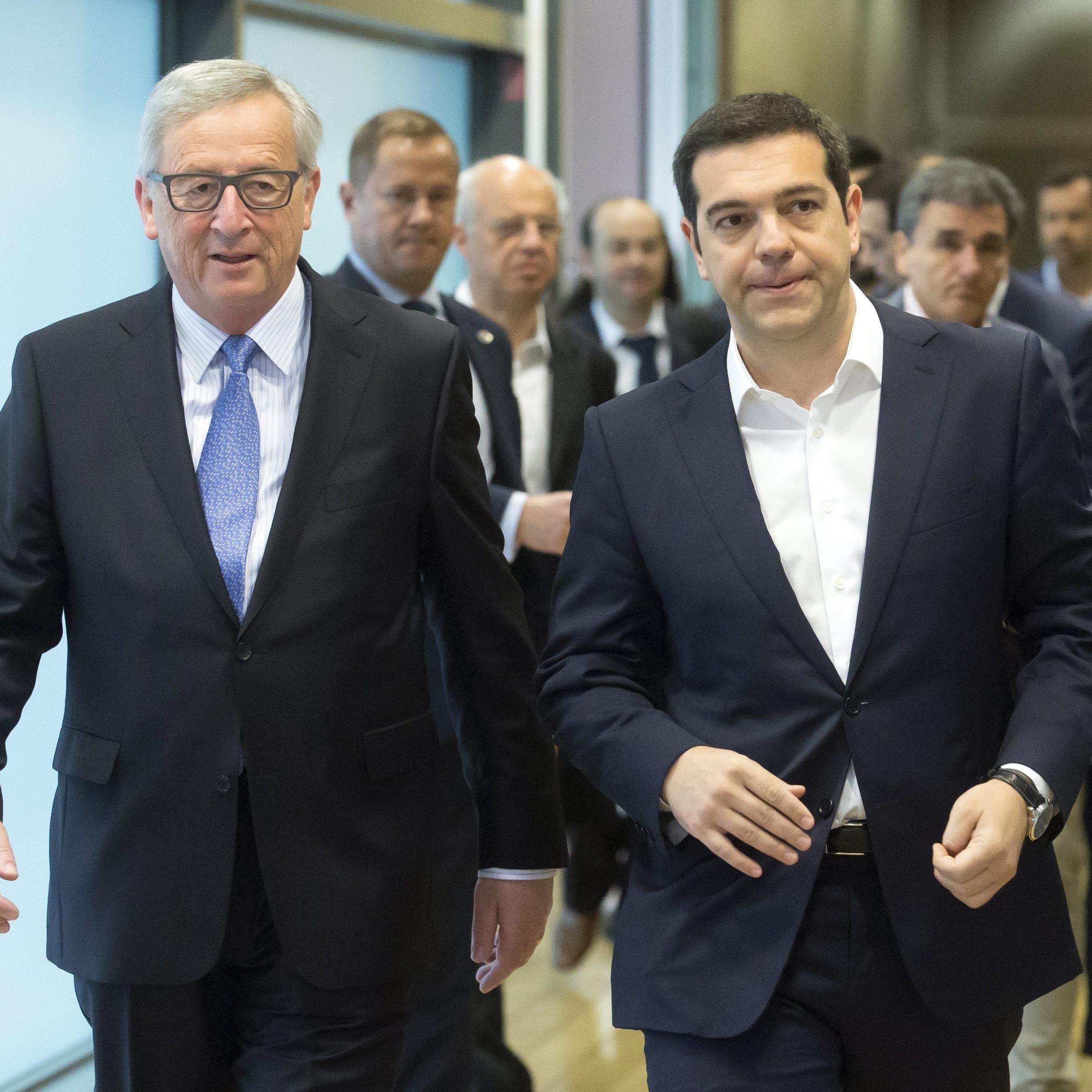 Zähes Ringen um Einigung mit Griechenland vor EU-Gipfel.