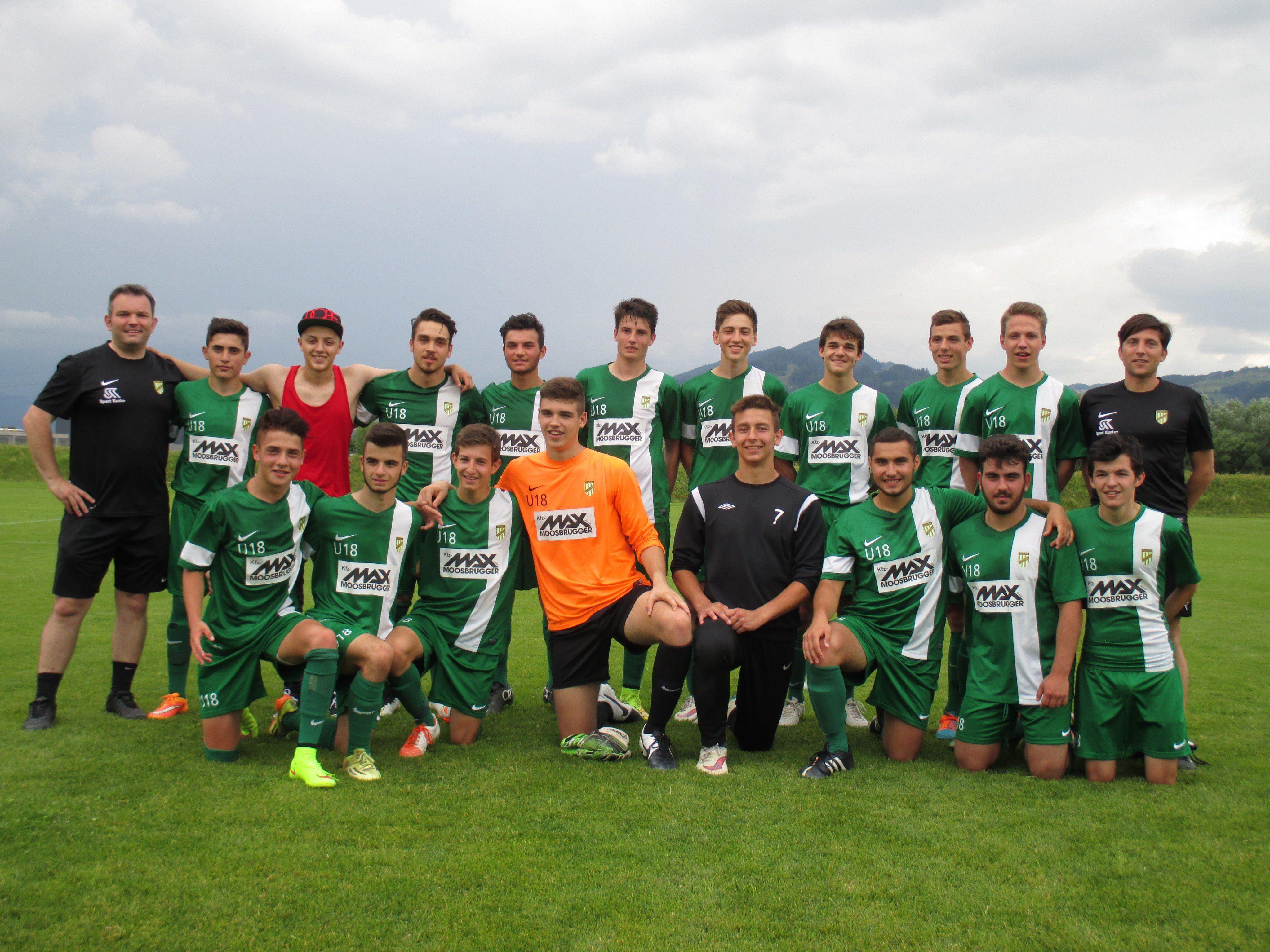 Die U18 des SC Austria Lustenau fixierte den Finaleinzug