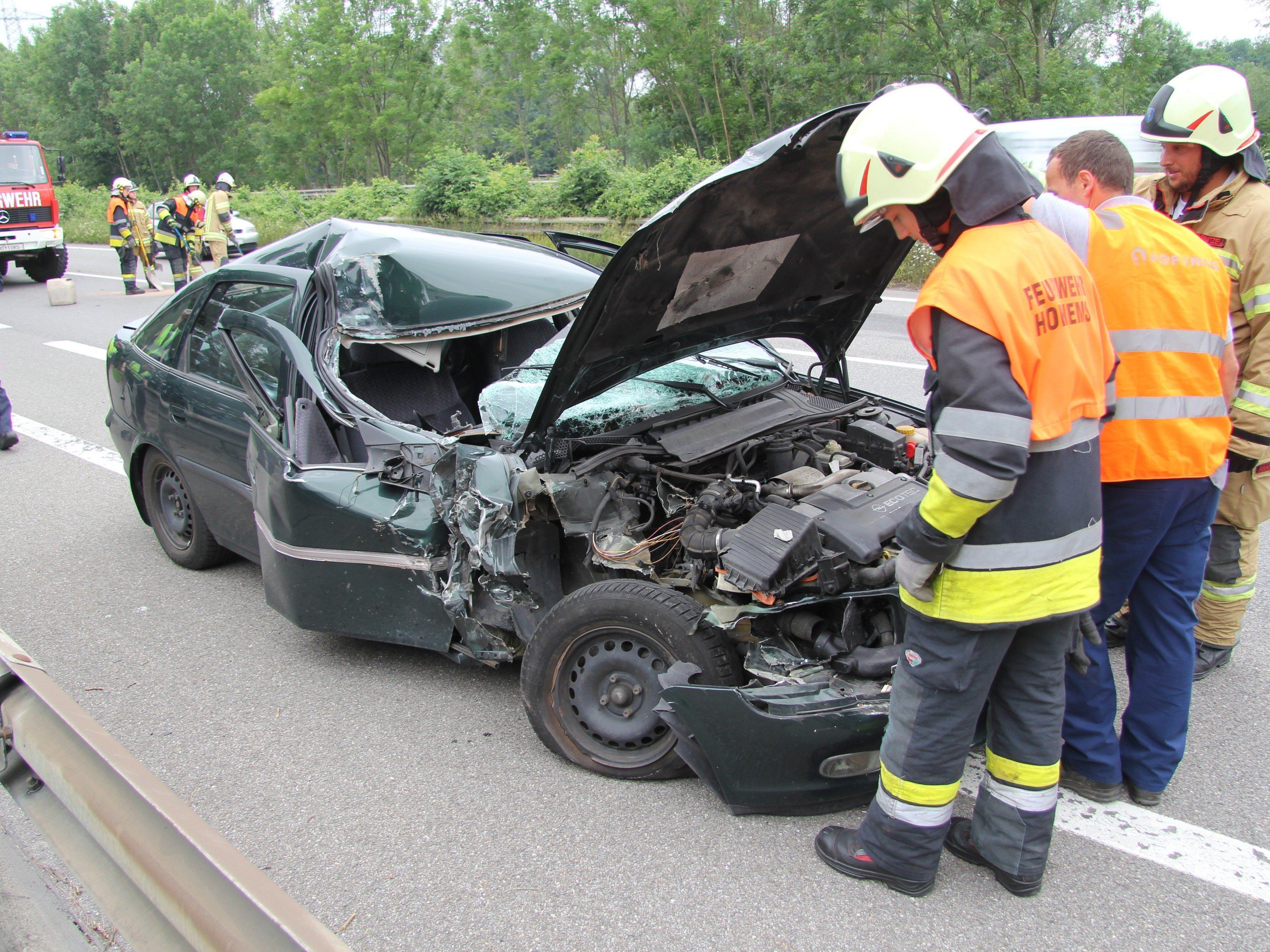Unfall forderte Verletzten.