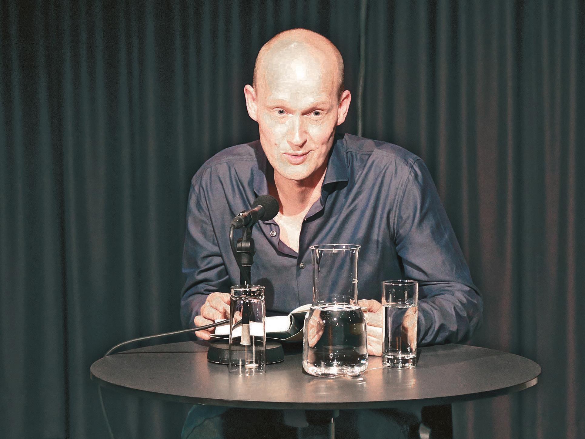 Arno Geiger las wieder am Saumarkt.