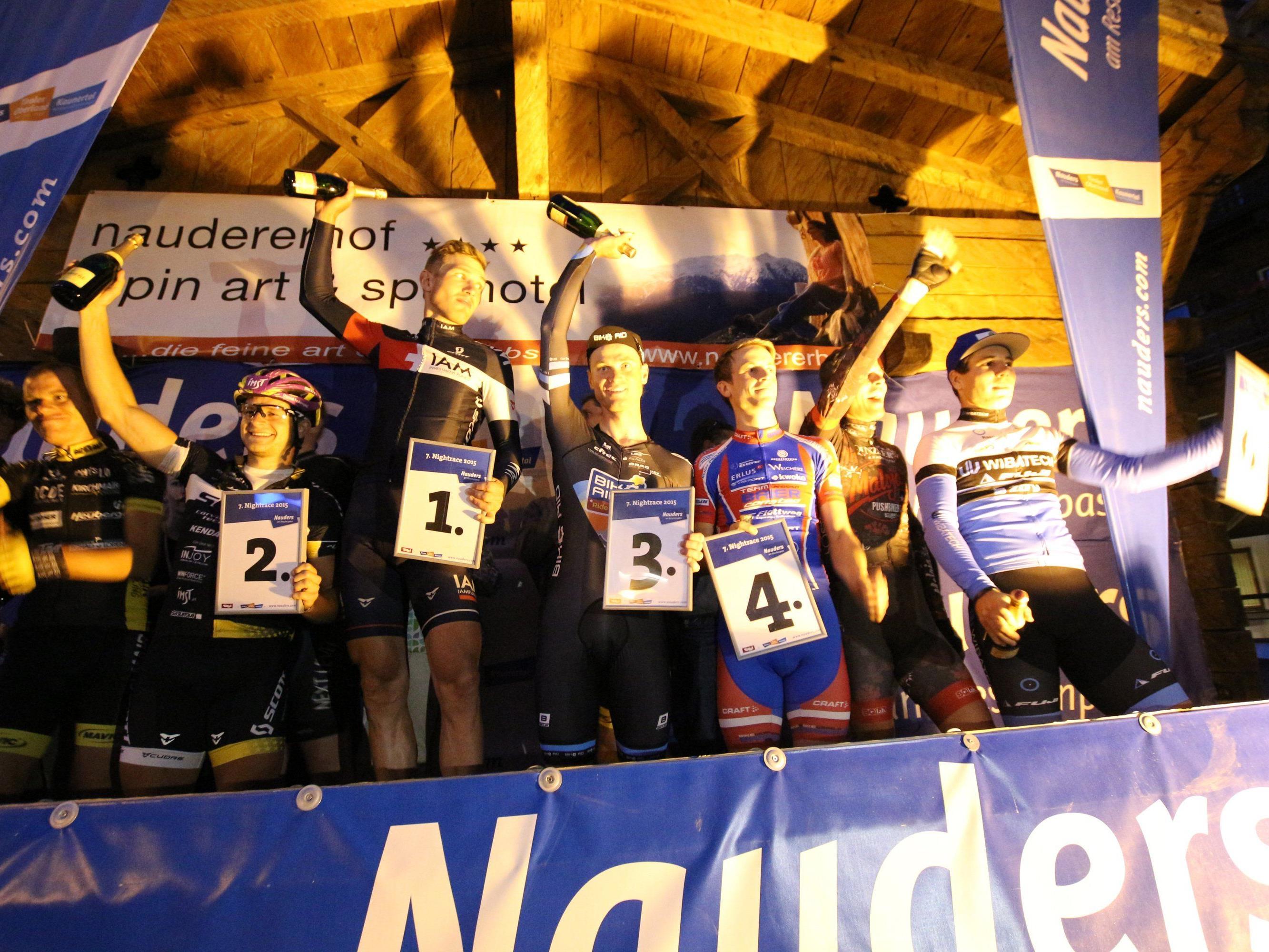 Der Hohenemser Mathias Brändle gewinnt wie im Vorjahr das Night Race in Nauders