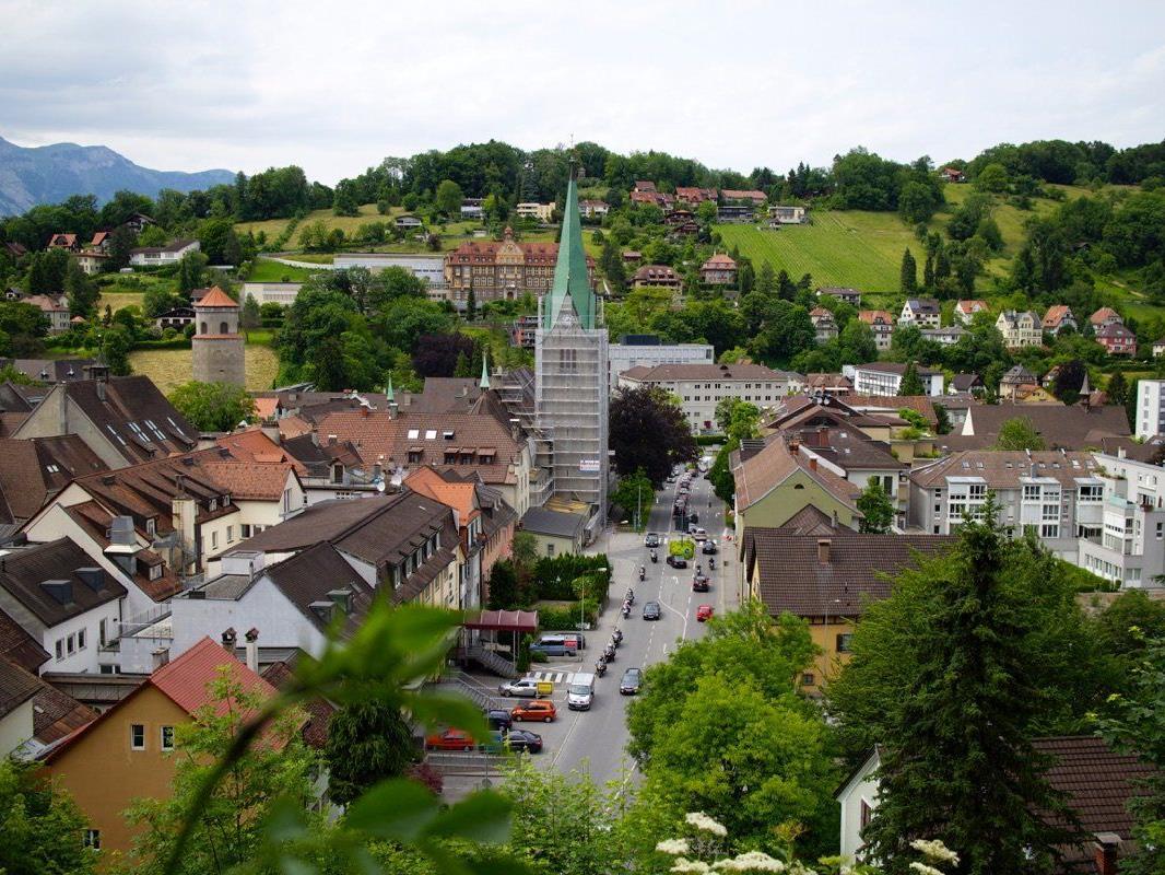 Bereits 536 Jahre ist der Kirchturm, der unter dem Architekten Hans Sturn 1479 fertig gestellt wurde.