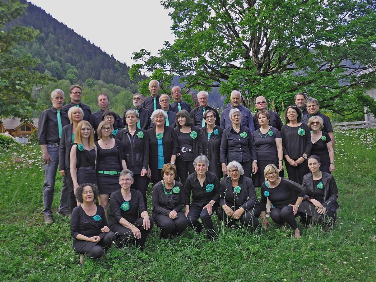 Der Brandner Kirchenchor probt für das Konzert am 5. Juli.