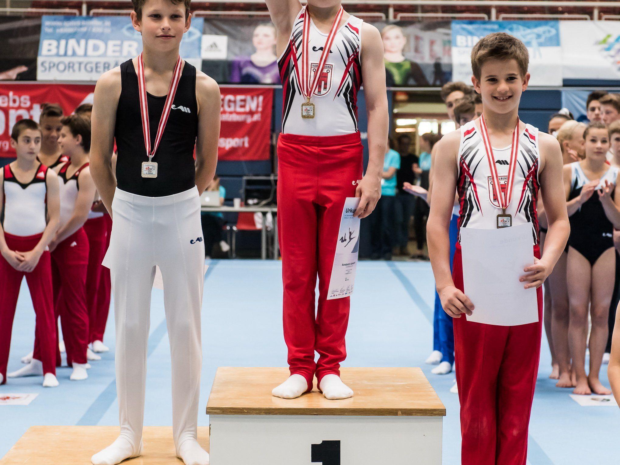 Vorarlberg dominierte die Jugend-Titelkämpfe in Salzburg